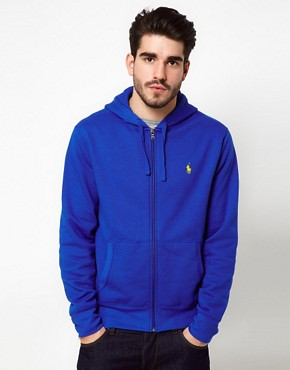 Image 1 ofPolo Ralph Lauren Hoodie In Bright Blue