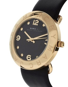 Image 4 ofMarc By Marc Jacobs Leather Watch