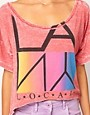 Image 3 ofLocal Celebrity LA NY Local Crop T Shirt