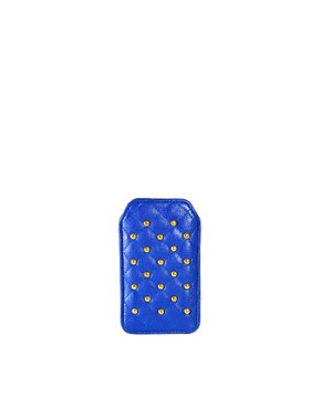 Image 1 ofASOS Quilted Stud iphone Case