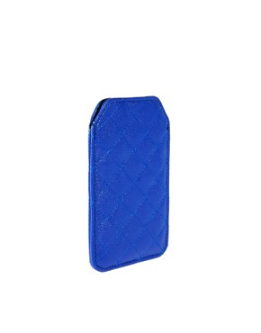 Image 2 ofASOS Quilted Stud iphone Case