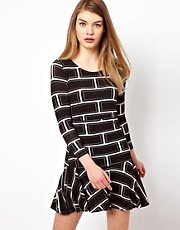 Olivia Rubin Long Sleeve T-Shirt Dress