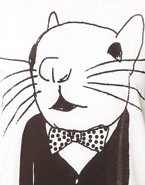 Image 3 of Simeon Farrar Exclusive to ASOS Mouse with Bow Tie T-Shirt