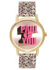 Paul&#39;s Boutique Floral &#39;Paul Love&#39;s You&#39; Watch