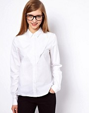 ASOS Shirt With Concertina Bib