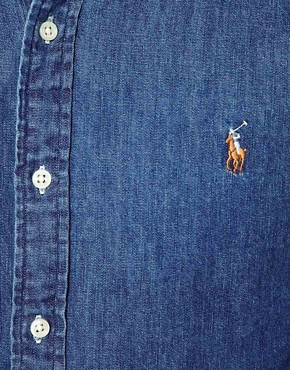 Image 3 ofPolo Ralph Lauren Denim Shirt