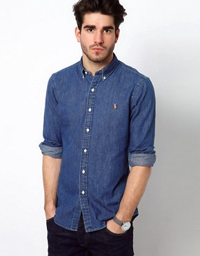 Image 1 ofPolo Ralph Lauren Denim Shirt