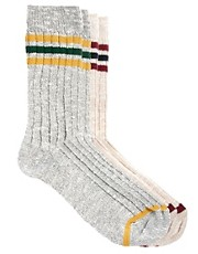 River Island Retro Sports Socks