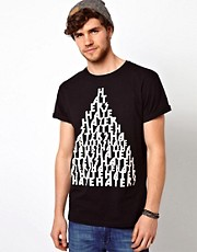 ASOS T-Shirt With Hater Print