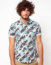 ASOS Shirt With Shape Print