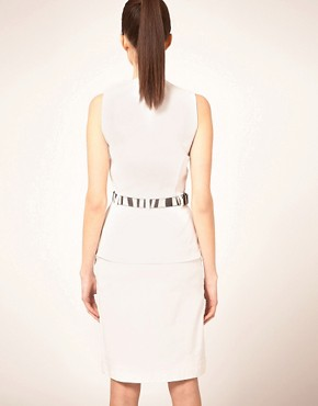 Image 2 ofPreen Line Alice Dress With Zebra Belt