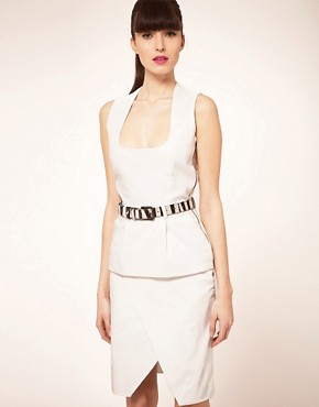 Image 1 ofPreen Line Alice Dress With Zebra Belt