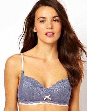 Image 1 ofElle Macpherson Intimates Maternity Cloud Swing Lace Nursing Bra