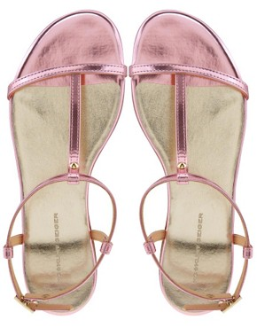 Image 3 ofKG Match Pink Flat Sandals