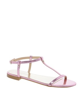 Image 1 ofKG Match Pink Flat Sandals