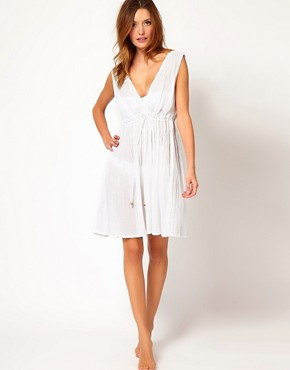 Image 4 ofFrench Connection Authentic Grecian Beach Dress