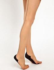 Pretty Polly 10 Denier Gloss Backseam Tights