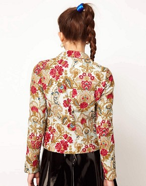 Image 2 ofManoush Floral Print Jacket