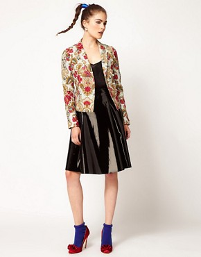 Image 4 ofManoush Floral Print Jacket