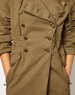 Image 3 ofJuicy Couture Miltary Hooded Jacket