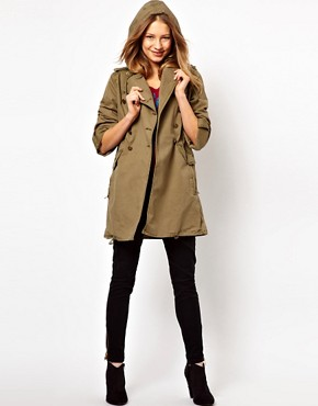 Image 4 ofJuicy Couture Miltary Hooded Jacket