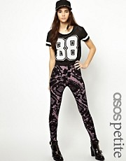 ASOS PETITE Exclusive Leggings In Tie Dye