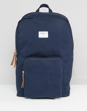 Sandqvist Kim Backpack In Blue