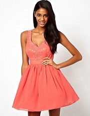 Little Mistress Sweetheart Neck Prom Dress