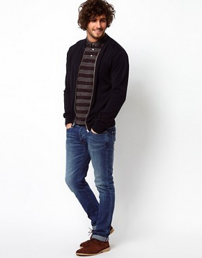 Image 4 of Paul Smith Jeans Cardigan Bomber with Zip Fastening