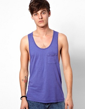 Image 1 ofASOS Vest With Extreme Racer Back