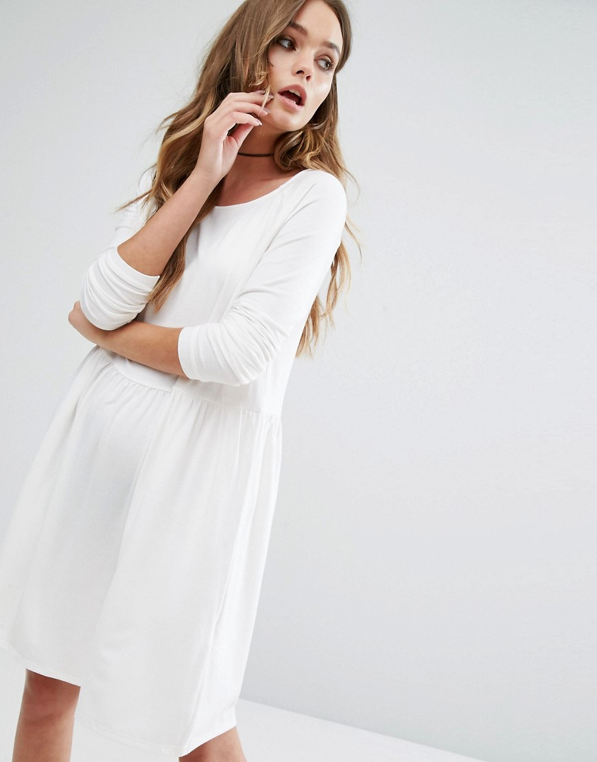 Vila Smock Dress - White