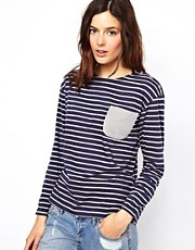 Chinti &amp; Parker Sailor Stripe T Shirt