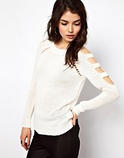 ASOS Cold Shoulder Sweater