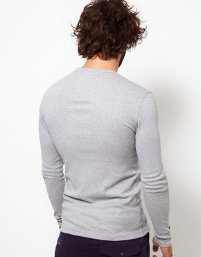 Image 2 ofG Star Long Sleeve Top Hatchback 1 Pocket Logo