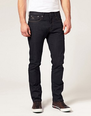 Image 1 ofG Star 3301 Slim Jeans