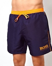 Boss Black Navy Starfish Swim Short