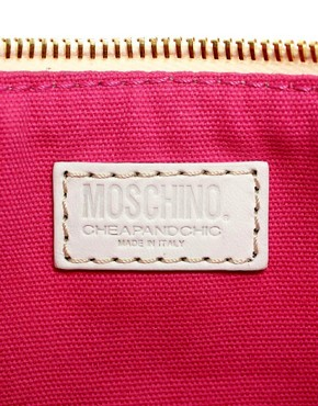 Image 2 ofMoschino Cheap &amp; Chic Sailor Chic Pouch