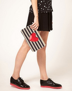 Image 3 ofMoschino Cheap &amp; Chic Sailor Chic Pouch