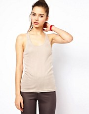 American Apparel Rib Racer Back Tank