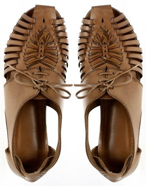 Image 3 of ASOS MAESTRO Leather Traditional Lace Up Shoe