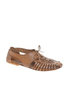 Image 1 of ASOS MAESTRO Leather Traditional Lace Up Shoe