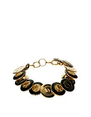 Sam Ubhi Vintage Button Bracelet