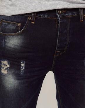 Image 3 ofASOS Slim Jean With Distressed Effect