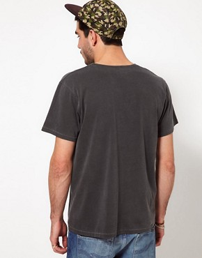 Image 2 ofNudie T-Shirt Twist Of Black Organic