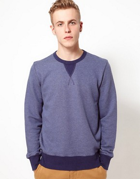 Image 1 ofYMC Sweatshirt With Contrast Rib