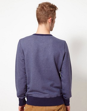 Image 2 ofYMC Sweatshirt With Contrast Rib