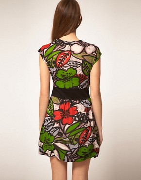 Image 2 ofMina Bold Floral Dress