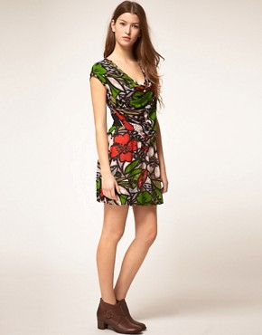 Image 4 ofMina Bold Floral Dress