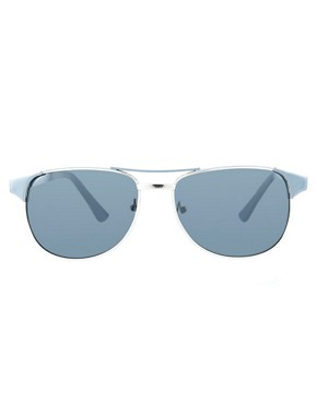 Image 2 ofA J Morgan Clubmaster Sunglasses