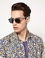 Image 3 ofA J Morgan Clubmaster Sunglasses